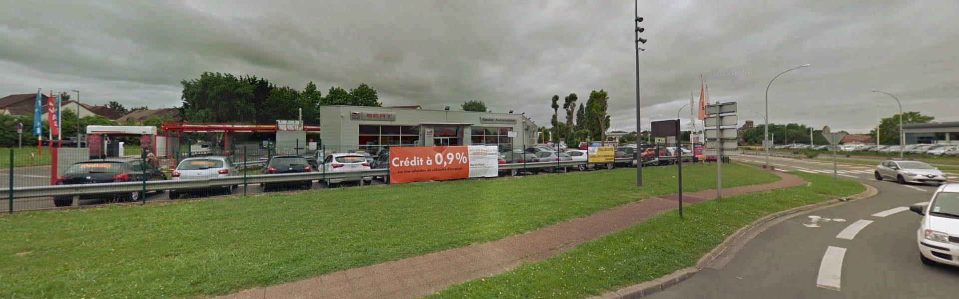 Seat Soulier à Cergy protège son parc d'autos grâce à Nord Sud Systèmes